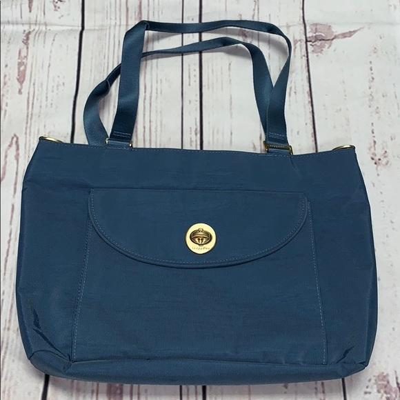 Baggallini Handbags - Blue Baggallini Tote Bag